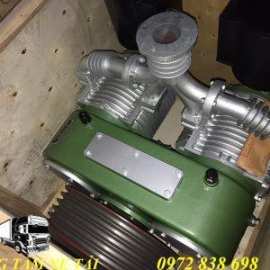 máy nén khí mooc bồn chở xi măng rời