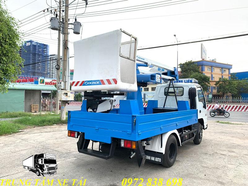 xe nâng người 14m isuzu socage a314