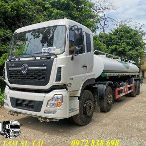 xe phun nước rửa đường Dongfeng 17 khối