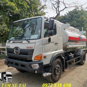 xe bồn chở xăng dầu 12 khối Hino FG