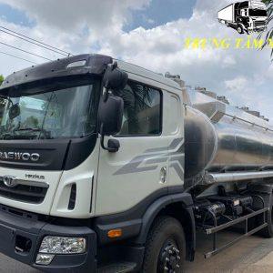Xe bồn chở xăng dầu 21 khối Daewoo HU6AA