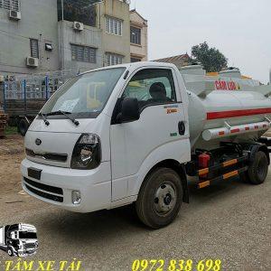 xe bồn chở xăng dầu 3 khối KIA K250