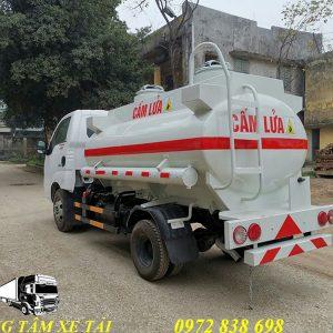 xe bồn chở xăng dầu KIA K250